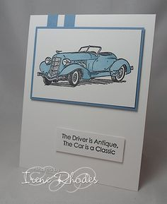 DTGD Classic Driver by DandI93 - Cards and Paper Crafts at Splitcoaststampers