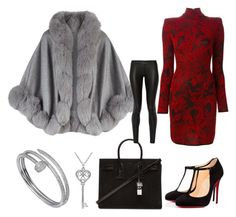 """""""Untitled #2"""" by phat0um ❤ liked on Polyvore featuring Harrods, Balmain, Cartier, Amanda Rose Collection, Yves Saint Laurent, Christian Louboutin, The Row, women's clothing, women's fashion and women"""
