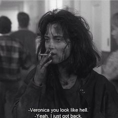 Winona Ryder in Heathers says it all! This is to those of you who just got back from hell. Remember badass bitches always do it better. @rebelcircus #rebelcircus #backfromhell #heathers #winonaryder #rebelgrrrl #rebel