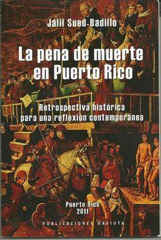 Book - La Pena de Muerte en Puerto Rico by Jalil Sued-Badillo