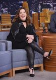 Melissa McCarthy Flawlessly Swapped Her Heels For Dancing Shoes on The Tonight Show