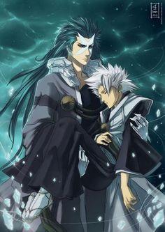 Bleach - Hitsugaya and Hyourinmaru wish my sword would walk me to school when I was tired!