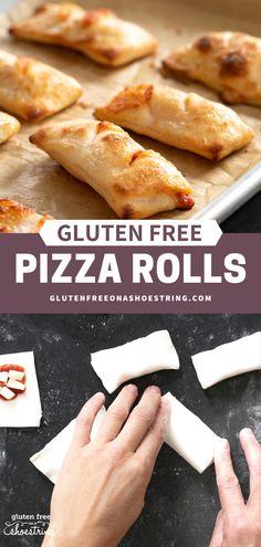 Easy DIY Gluten Free Pizza Rolls