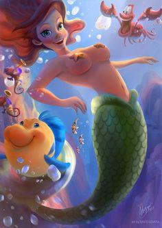 Beautiful Fantasy Illustrations by DavidLojaya