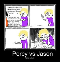 Percy Jackson vs. Jason Grace