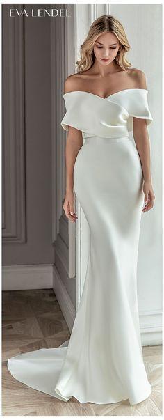 Dresses To Wear To A Wedding, Dream Wedding Dresses, Wrap Wedding Dress, Satin Mermaid Wedding Dress, Wedding Wraps, Evening Dresses, Prom Dresses, Formal Dresses, Elegant Party Dresses