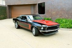 Custom '69 Ford Mustang Mach