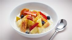 Try this Cinnamon Stewed Fruit with Quinoa/Amaranth Porridge recipe by Chef Emma Sutherland. This recipe is from the show Eat Yourself Sexy Australia. Healthy Eating Tips, Clean Eating Recipes, Diet Recipes, Cooking Recipes, Healthy Recipes, Healthy Foods, Low Carb Meal Plan, Diet Meal Plans, Stewed Fruit