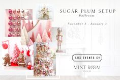 Welcome to the Sugarplum Setup - our fun, colourful and quirky space full of nostalgia in the Ballroom!