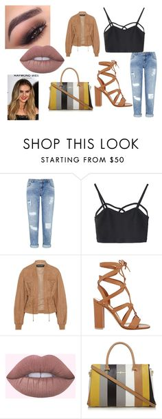 """""""perrie edwards"""" by little13directioner on Polyvore featuring Miss Selfridge, Balmain and Gianvito Rossi"""