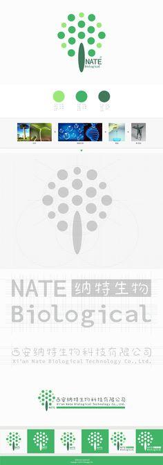 XI'AN NATE Logo Design by Chongqin Hu