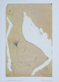 Egon Schiele Female Torso - 1911