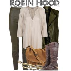 Inspired by Sean Mcguire as Robin Hood on Once Upon a Time - Shopping info!