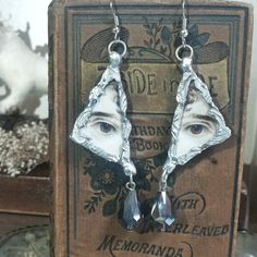 Lover's eye earrings freshly listed!!!