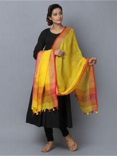 The Loom- An online Shop for Exclusive Handcrafted products comprising of Apparel, Sarees, Jewelry, Footwears & Home decor. Anarkali Dress, Anarkali Suits, Silk Dupatta, Indian Outfits, Indian Clothes, Ethnic Dress, Dress Cuts, Indian Designer Wear, Cotton Saree