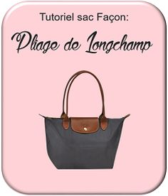 """Les Cousettes de Virginie: Tuto grand sac façon """"Pliage"""" de Longchamps"""