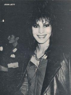 Joan Jett.,nice smile.