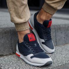 Buty REEBOK CL LEATHER GREY Jordans Sneakers, Air Jordans, Cl, Reebok, Grey, Leather, Shoes, Fashion, Gray
