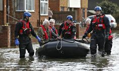 1. of 11. Sussex police search and rescue officers evacuate residents through a flooded street in Egham, Surrey - The record rainfall and storm surges that have brought flooding across the UK are a clear sign that we are already experiencing the impacts of climate change. Four of the five wettest years recorded in the UK have occurred from the year 2000 onwards. Over that same period, we have also had the seven warmest years. Nicholas Stern is chair of the Grantham Research Institute...