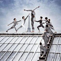 40 Danseurs sur les Toits de lOpéra de Paris