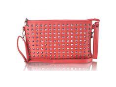 Červená listová kabelka LSE00230 Bags, Handbags, Bag, Totes, Hand Bags