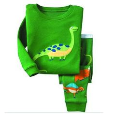 SS&CC Boys' Dinosaur Printing Long Sleeve 2 Piece 100% Cotton Pajama set(2-7 Years). 100% Cotton. Machine wash inside out. Our company has professional quality control department to test fabrics and clothes. Tagless Label to help protect child's delicate skin. Pajamas are designed to fit snug for child's safety.