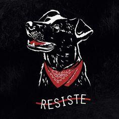 #NegroMataPacos | El arte detrás de un símbolo de revolución social Protest Kunst, Protest Art, Teaching Culture, Arte Punk, Oriental Flowers, Tatuagem Old School, Skull Art, Dog Art, Chile