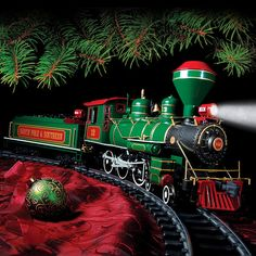 "Check+out+""BIG+TRAIN+Christmas+Train+Set""+from+Herrington+Catalog"