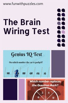 Can you solve this maths logic brainteaser? #logic #reason #brainteasers #brainteaser #puzzles #puzzlesfordays #puzzletime #puzzlegames #LockdownPuzzles #Mathspuzzle #puzzle #riddles #riddle #math #brain #reasoning #iq Genius Iq, Test For Kids, Missing Number, Brain Teasers For Kids, Fun Brain, Number Puzzles, Question Mark, Riddles, Maths