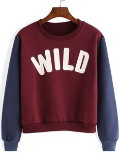 #Red #and #Blue #WILD #Print