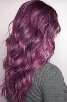 D: I Want Purple Curly Hair Soooo Bad!