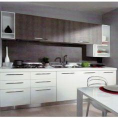 Cucine Moderne in Legno www.legnopiuingegno.it Modern Kitchens, Kitchen Cabinets, Home Decor, Decoration Home, Room Decor, Contemporary Kitchens, Cabinets, Home Interior Design, Dressers