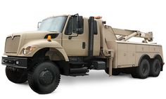 I wish I was able too get something like this Navistar Defense 7000-MV recovery vehicle too go in place of regular heavy duty tow trucks. However, I doubt that it's available to the public so I'm probably stuck with the Workstar or some other truck.