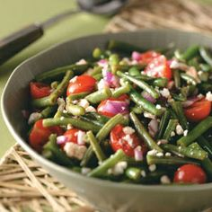 Balsamic Green Bean Salad - Ive made this several times already and it is AWESOME! lbrub88