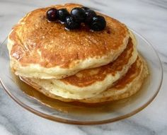 Decent, but still not quite right. Fluffy Pancakes #recipe