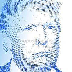 Stati Uniti - novembre 2016 - Donald Trump, candidato alla presidenza degli Stati Uniti damerica — Vettoriali Stock © frizio #129875924