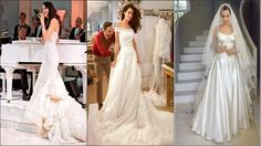 Celebrities, of course, have the craziest, most expensive, top of the line, and beautiful weddings! Check out my top 12 list of favorite celebrity wedding dresses!