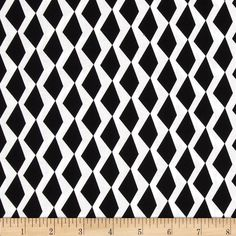 Michael Miller Rouge Et Noir Mountain & Valley White from @fabricdotcom%0A%0ADesigned by Tamara Kate for Michael Miller, this cotton print is perfect for quilting, apparel and home decor accents. Colors include black and white.