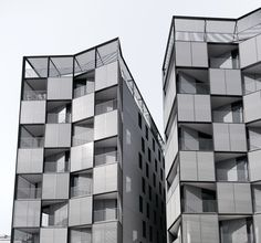PLAZA LESSEPS - Building of 56 houses | OAB Office of Architecture in Barcelona | Vallcarca , Barcelona, Spain |  Photographer ALEJO BAGUÉ