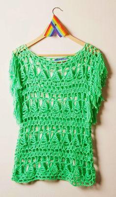 Crochetemoda: вязание крючком