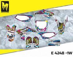 E 4248 - Yamaha YZ 65 2018 - Moto-StyleMX - Premium manufacturer of quality decals for motocross, enduro, supermoto dirt bikes Motocross, Yamaha, Custom Design, Bike, Graphics, Motorbikes, Bespoke Design, Bicycle Kick, Charts