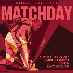 #MatchDay! 🔶🔴 Carichi❓ Qual è il vostro pronostico per #RomaCagliari❓ *** #Roma v #Cagliari is not far off❗️ What is your prediction for the game today❓ *** Follow @officialasroma on Instagram *** #DajeRoma #ForzaRoma #giallorossi #seriea #calcio #football #italia #nainggolan #graphic #infographic #design #radja #ninja #rn4