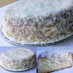 Fuzzy Wet Towel Cake - View Recipe:- Bolo Toalha Felpuda Molhadinho – Veja a Receita: – Learn how to prepare this wonderful recipe for Wet Fluffy Towel Cake - Food Cakes, Cupcake Cakes, Sweet Recipes, Cake Recipes, Banana Chips, Portuguese Recipes, Wonderful Recipe, Cake Cookies, Vanilla Cake