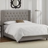 Found it at AllModern - <strong>Skyline Furniture</strong> Wingback Bedhttp://www.allmodern.com/Skyline-Furniture-Wingback-Bed-SKY2908.html?refid=SBP