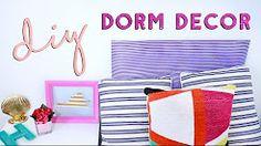 cool diy dorm room - YouTube