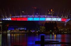 BC Place in Vancouver, British Columbia, Canada ~Terry / Instagram