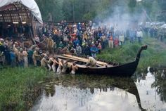 In May 2008,  the organization started building a 11m length viking ship, following the construction pattern of ships that were built more than 1000 years ago, taking a finish viking reconstructed ship as a model. It was launched in 6 June 2009, and appart from being moved by oars it can be used with a silent electrical engine.