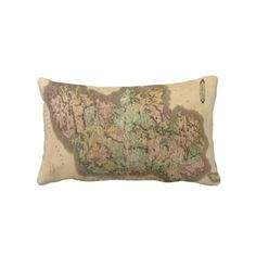 Vintage Map of Ireland (1831) Throw Pillows from Zazzle.com $52.00