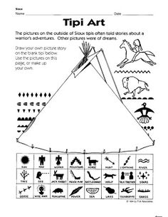 FREEBIE! Native American Symbols to print out to use as a