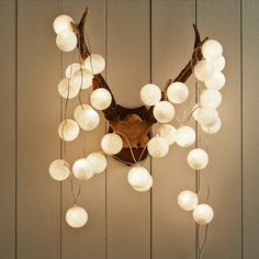 This 35 ball string light is the perfect finishing touch for any room. Use them to illuminate the banisters or make a feature of picture fra...